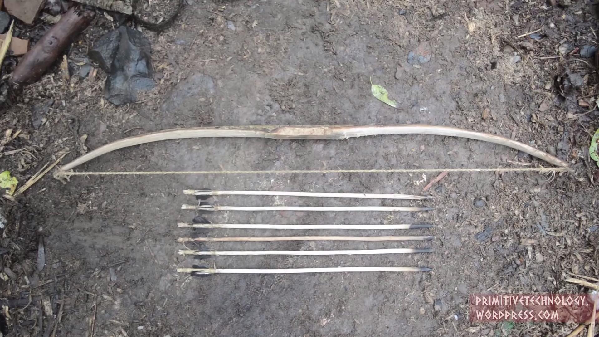 Как сделать стрелы из ели