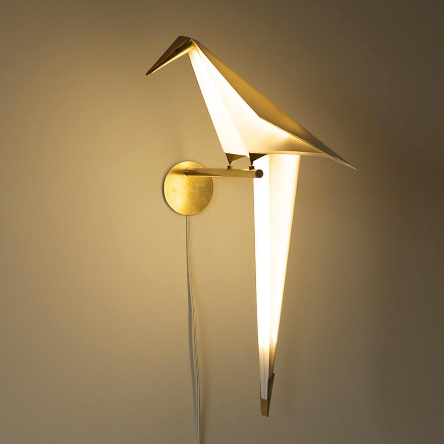 Светильник в виде птицы своими руками