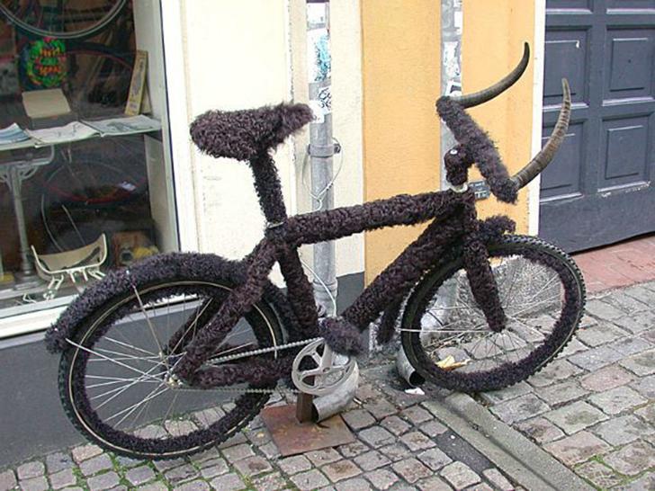 Как украсить диски на велосипед своими руками