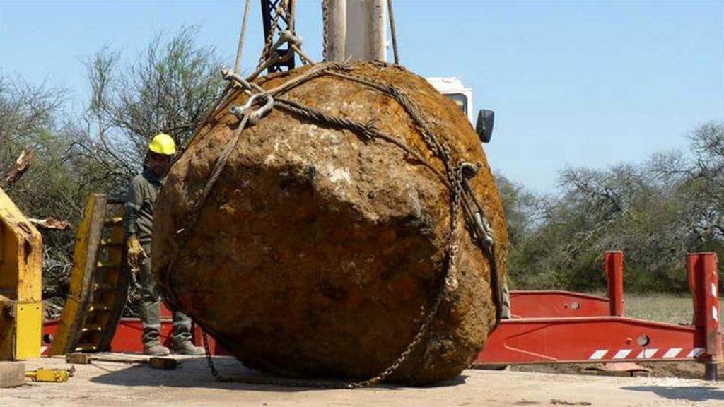 Аргентинские ученые откопали 3-тонный метеорит - N4A ...