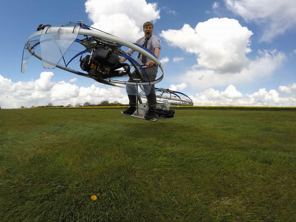 Летающий мотоцикл как сделать 59