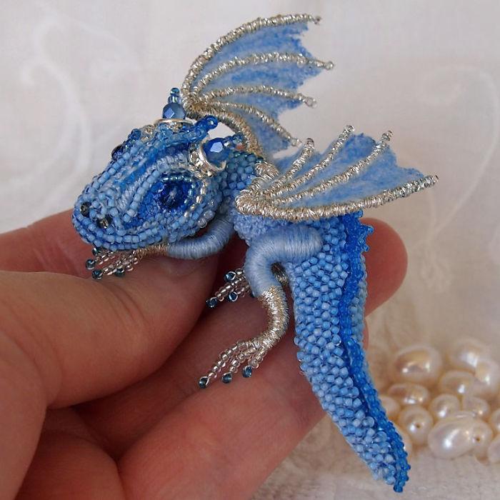 Бисер своими руками дракон 58