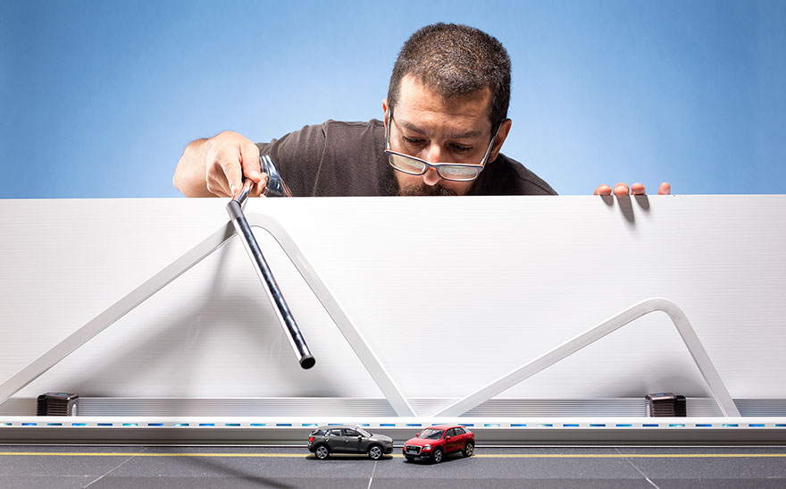 Как снять рекламу дорогостоящего Audi Q2 почти бесплатно - N4A - Самое интересное в сети